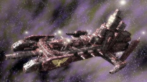 Barcaza de Batalla Adeptus Astartes Wikihammer Cañon Bombardeo
