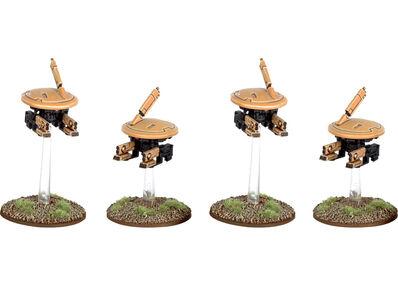 Drones de Combate MV1 T'au 3ª Edición miniaturas