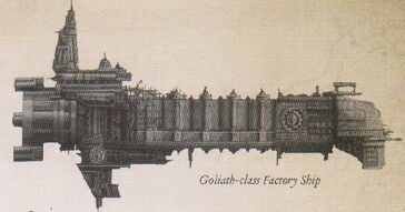 Flota nave fabrica Goliath mechanicus wikihammer