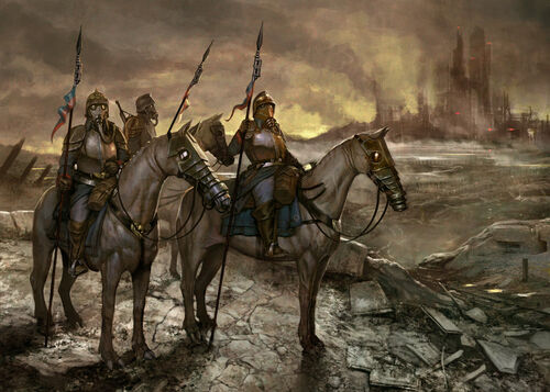 Guardia Imperial korps de la muerte de krieg wikihammer