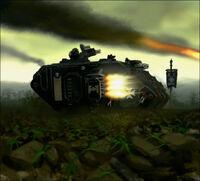 Land Raider Cruzado Templarios Negros