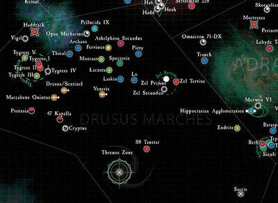 Mapa marchas de drusus