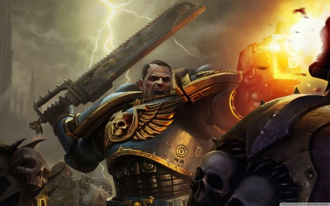 Warhammer 40k space marine battlefield-wallpaper-1440x900