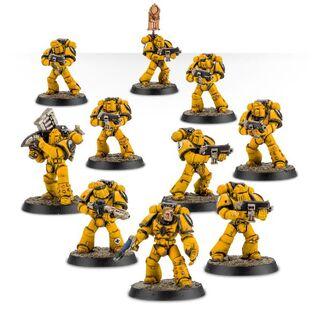 Escuadra Táctica Veterana Mk. IV Maximus Legión Puños Imperiales