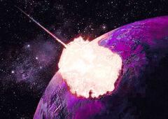 Explosion de plasma