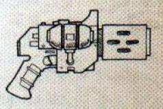 Inferno pistol (Mars-pattern)