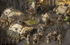 Mano Pálida Gehesma Guardia de la Muerte 8ª Edición diorama