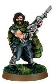 Miniatura Coronel Colm Corbec Primero y Único Tanith