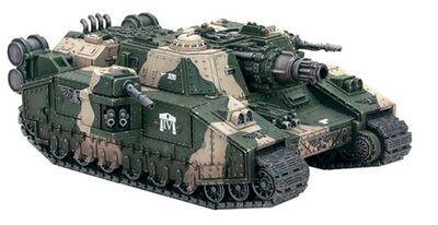 Miniatura Tanque Superpesado Doomhammer 4º de Cadia