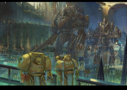 Mechanicus titan castigador y titan emperador