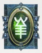 Simbolo eldar runa karandras y escorpiones asesinos