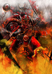 Word bearer massacre by slaine69