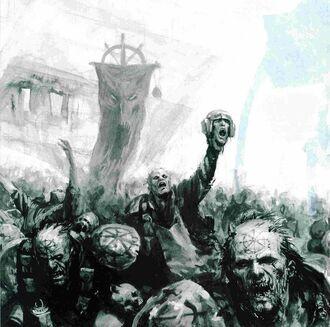 Caos hordas adoradores