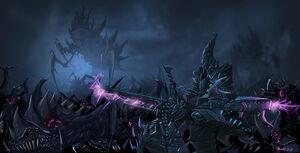 Darkeldar vs tyranids by minenanoah-d5iw55i