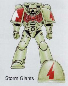 Marine Táctico Gigantes de las Tormentas 4ª Edición ilustración