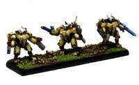 XV8 Crisis T'au Epic FW miniatura