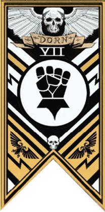 Estandarte 7a puños imperiales