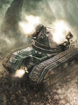 Tanque de Supresión Wyvern Guardia Imperial Astra Militarum
