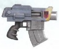 Bolter pistola Umbra Ejecutores
