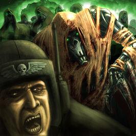 Desolladores Necrones Guardia Imperial Wikihammer