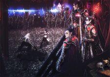 Eldars oscuros luchas arena brujas commorragh