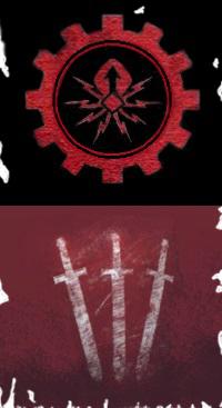 Estandarte-emblema de la Casa Atrax