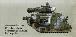 Guardia Imperial tanque leman russ demolisher valhalla