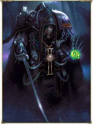 Inquisidor Xanthita Inquisición 6ª Edición ilustración