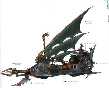 Segador Eldars Oscuros Forge World componentes