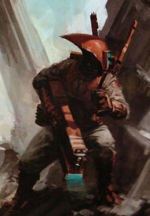 Tau explorador armadura reconocimiento wikihammer