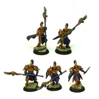 Alabarderos Legio Praetoriana Kabuki Models (proxy de Custodes)