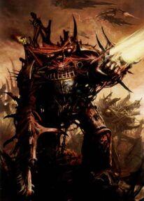 Caos arrasador guerreros de hierro color