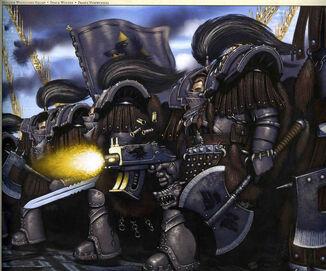 Escuadra guardias del lobo mjollnir