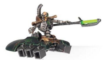 Líder Destructor Necrones 3ª Edición miniatura