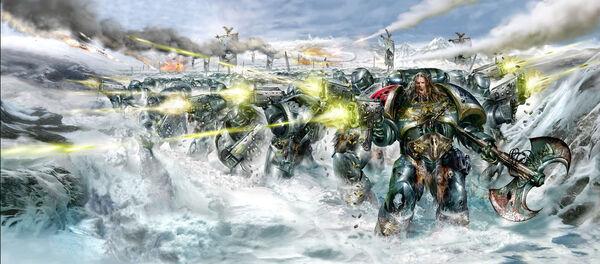 Lobos espaciales batalla del colmillo