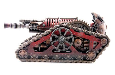 Tanque de Batalla Krios Mechanicum Cañón de Relámpagos