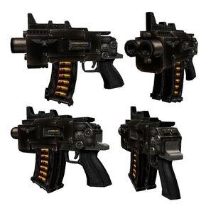 Pistola Bolter tipo tormenta