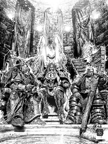 Sanguinius Roboute Guilliman Lion El'Jonson Señores del Imperium Secundus