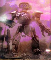 Titan Reaver disparando
