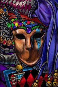 Eldar Harlequin Mask