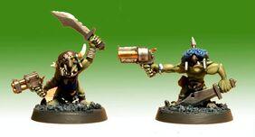 Gretchin Orko Warhammer 40k Wikihammer miniatura