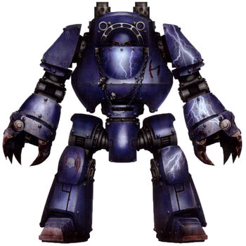 Carrow Dreadnought Contemptor Legión Amos de la Noche