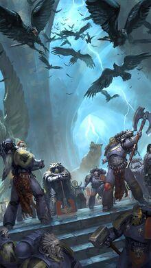 Reunión de los Señores Lobo en Fenris