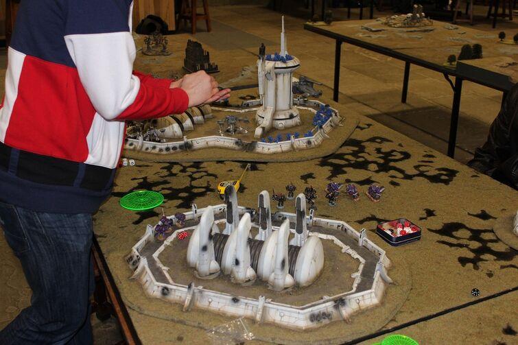 Warhammer World Nottingham Wikihammer Escenografía Tau