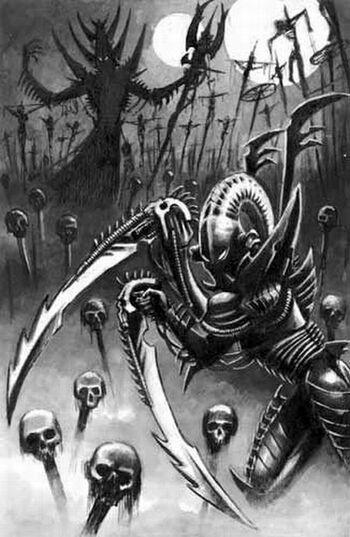 Drazhar Eldars Oscuros 3ª Edición ilustración