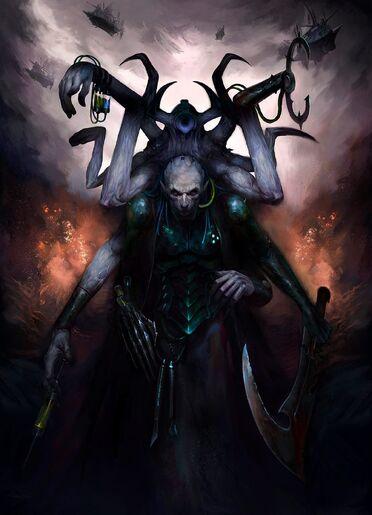 Eldar oscuro hemonculo brazos extra