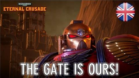 Warhammer 40k Eternal Crusade - PS4 XB1 PC - The Gate is ours! (announcement trailer)