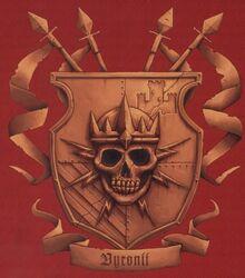 Emblema heráldico de la Casa Vyronii