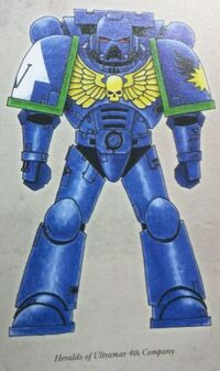 Esquema Heraldos de Ultramar Wikihammer