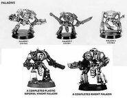 Knight Modelos Caballeros Paladín Epic